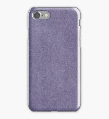 Purple leather  iPhone Case/Skin
