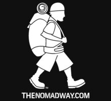 The Nomad Way - Classic T  (White on...) by TheNomadWay