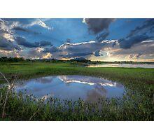 Circle Sky Photographic Print