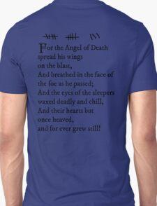 Archer -- Pam's Tattoo (Lord Byron Poem)  T-Shirt