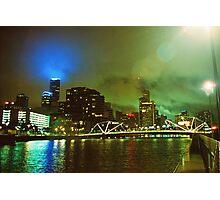 Strange Night Sky Photographic Print
