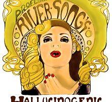 """Professor River Song's Hallucinogenic Lipstick"" by Monica Lara"