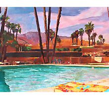 The Palm Springs Pool Photographic Print