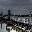 Amsterdam Rhine Canal by Peter Wiggerman