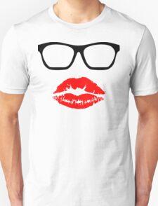 Nerd Glasses and Kiss T-Shirt