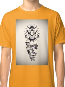 My Head Is An Animal Classic T-Shirt