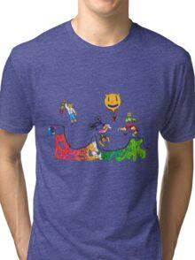 Percentum Xtreme Sports (colour) Tri-blend T-Shirt
