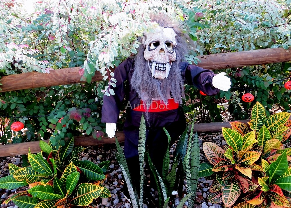 Welcome To My BOO'tiful Garden by AuntDot
