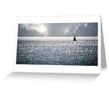 Beyond the Horizon Greeting Card