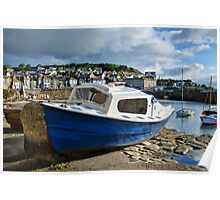 Mousehole Harbour 4 ~ Cornwall Poster