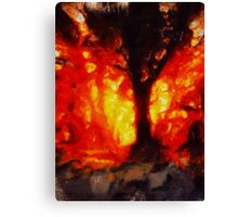 Tree of Fire by Sarah Kirk Canvas Print