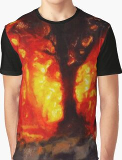 Tree of Fire by Sarah Kirk Graphic T-Shirt