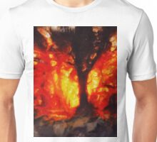 Tree of Fire by Sarah Kirk Unisex T-Shirt