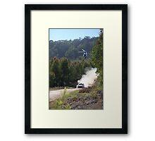 Hyundai World Rally team Framed Print