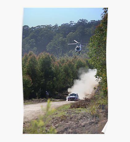 Hyundai World Rally team Poster
