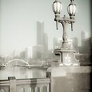View off Princes Bridge by Andrew Wilson
