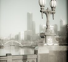 View off Princes Bridge by Andrew Wilson