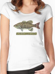 Smallmouth Bass Women's Fitted Scoop T-Shirt