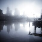 Misty Melbourne Morning by Andrew Wilson