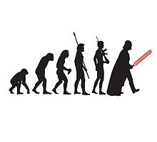 The Evolution Of DarkSide Star Wars by Spadaro