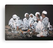 Nomad dinner Canvas Print