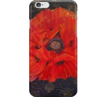 Poppy Psychedelic  iPhone Case/Skin