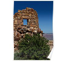 Stone Ruins, Grand Canyon National Park, USA Poster