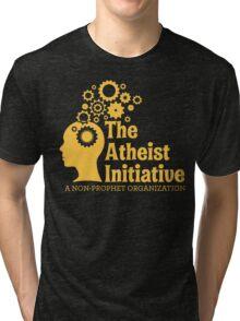 The Atheist Initiative Logo Tri-blend T-Shirt