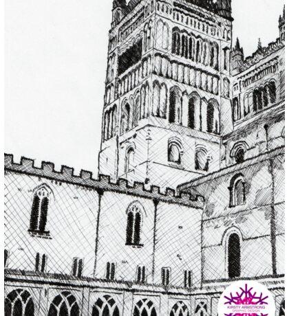 Durham Cathedral Sticker