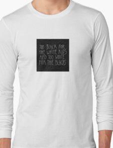 Chum Lyrics Long Sleeve T-Shirt