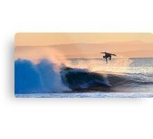 Ariel Surfer Metal Print