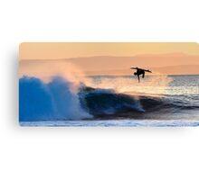 Ariel Surfer Canvas Print