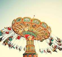 """""""Let Go"""" Fine Art Carnival Photography  by YoungSwanDesign"""