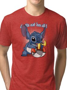 Gotta eat'em all. Tri-blend T-Shirt