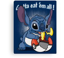 Gotta eat'em all. Canvas Print