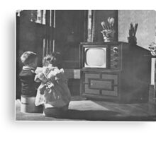 First TV  Canvas Print