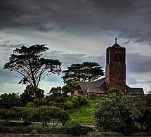Church on top of the hill by Gerard Rotse