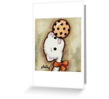 Ferret Ball Greeting Card