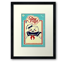 Stay Puffed Framed Print