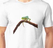 Floral Baby Chameleon Unisex T-Shirt