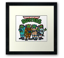 Teenage Mutant Ghost Busters Framed Print