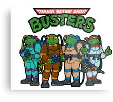 Teenage Mutant Ghost Busters Metal Print