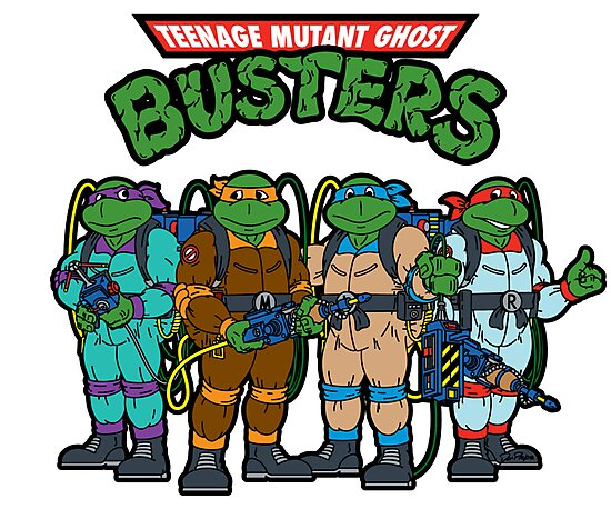 Teenage Mutant Ghost Busters by GBNews