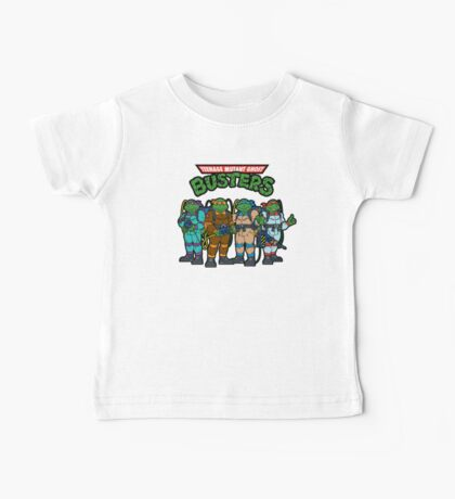 Teenage Mutant Ghost Busters Baby Tee