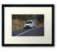 FORD Fiesta Framed Print