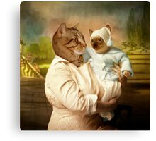 The irresistible baby Canvas Print