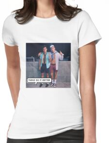 Dolan Twins - twins do it better Womens Fitted T-Shirt