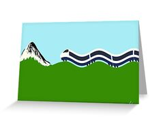 Shinkansen  新幹線 Greeting Card