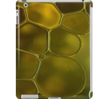 oil bubbles on water iPad Case/Skin