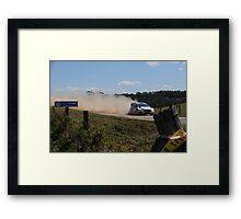 Ford Fiesta WRC Framed Print